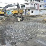 Intervienen último tramo de avenida Colón en proceso de regeneración