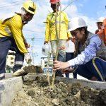 Obra de regeneración urbana de avenida Colón alcanza 78% de avance