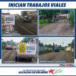 TRABAJOS DE RECONFORMACION VIAL