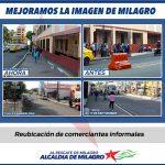 JUNTOS MEJORAMOS LA IMAGEN DE MILAGRO