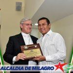 ALCALDE DE MILAGRO RECIBIO A NUNCIO APOSTOLICO