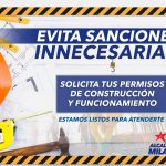 NO OLVIDES SACAR TU PERMISO DE CONSTRUCCION O FUNCIONAMIENTO