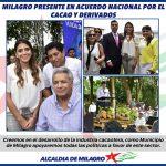 ACUERDO NACIONAL POR EL CACAO Y SUS DERIVADOS