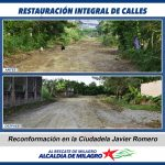 RESTAURACION CALLES CDLA JAVIER ROMERO