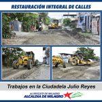 MEJORAMIENTO CALLES CDLA JULIO REYES