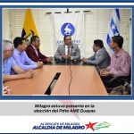 MILAGRO PRESENTE EN LA ELECCION DEL NUEVO PRESIDENTE DE AME GUAYAS