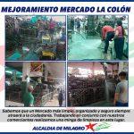 LIMPIEZA MERCADO LA COLON