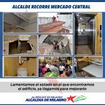 ALCALDE RECORRE MERCADO CENTRAL