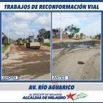 RECONFORMACION VIAL AV. AGUARICO