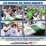 "MUNICIPIO IMPULSA CAMPAÑA ""PARA TUS COMPRAS LLEVA TUS FUNDAS"""