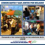 COMERCIANTES Y GAD JUNTOS POR MILAGRO