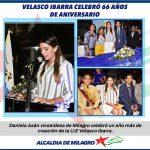VICEALCALDESA  DE MILAGRO PARTICIPÓ EN SESION SOLEMNE POR ANIVERSARIO DE VELASCO IBARRA