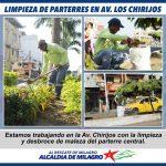 TRABAJOS DE MEJORAMIENTO AV. CHIRIJOS