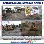 RESTAURACION VIAL 21 DE ENERO