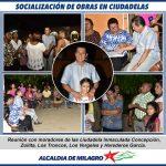LAS CDLAS. LOS VERGELES, INMACULADA CONCEPCIÓN, ZOILITA Y HEREDEROS GARCIA CONTARON SUS NECESIDADES.