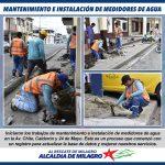 MANTENIMIENTO E INSTALACION DE MEDIDORES DE AGUA