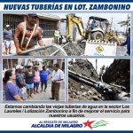 PROBLEMA DE TUBERÍAS DE AGUA FUE SOLUCIONADO INMEDIATAMENTE