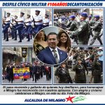 MILES DE PERSONAS DISFRUTARON DEL DESFILE CIVICO MILITAR