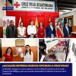 ¡ALCALDÍA ENTREGA NUEVAS OFICINAS A CRUZ ROJA!