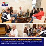 ALIANZAS CON EL MINISTERIO DE AMBIENTE