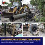 PLAN PREVENTIVO INVERNAL EN CDLA. ALMEIDA Y BARRIO SAN PEDRO