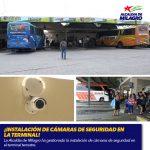 ¡INSTALACIÓN DE CÁMARAS DE SEGURIDAD EN LA TERMINAL!