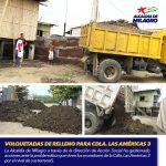 VOLQUETADAS DE RELLENO PARA CDLA. LAS AMÉRICAS 3