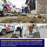 TRABAJOS INTEGRALES EN LA CALLE ROCAFUERTE